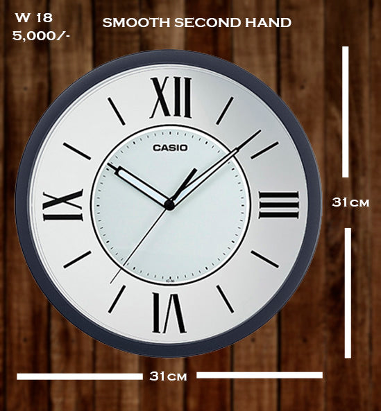 Casio Wallclock W 18