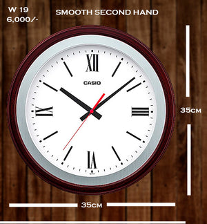 Casio Wallclock W 19