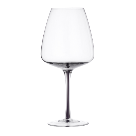 Smoke Red Wine Glass by Broste Copenhagen