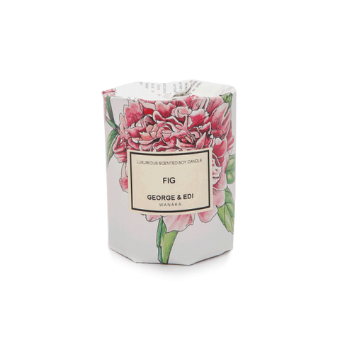 GEORGE & EDI MEDIUM CANDLE 'FIG'