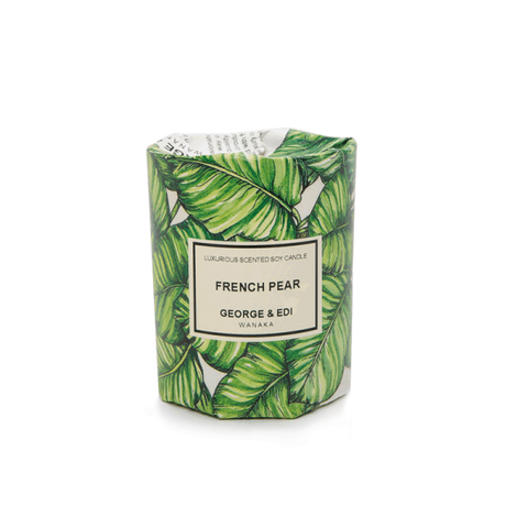 GEORGE & EDI MEDIUM CANDLE 'FRENCH PEAR'