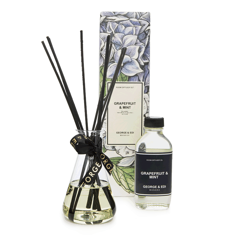 GEORGE & EDI DIFFUSER SET - GRAPEFRUIT & MINT
