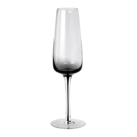 Smoke Champagne Glass by Broste Copenhagen