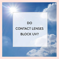 UV Protecting Contact Lenses