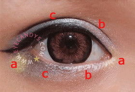 EyeCandy's Spring Blossoms Eye Makeup Tutorial: Step 1