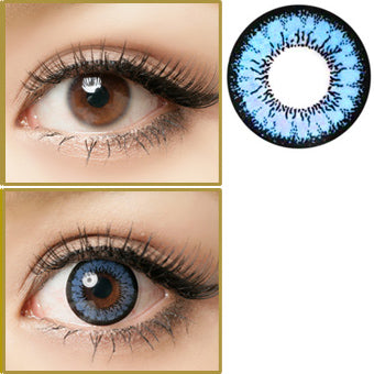 Why Choose Big Eye Contact Lenses Over Regular Colored Contacts?