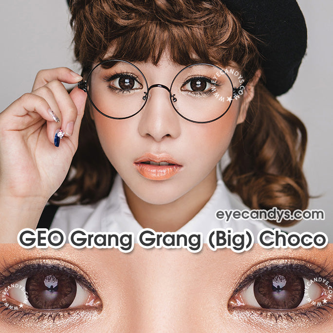 Circle Lenses for the Office Girl