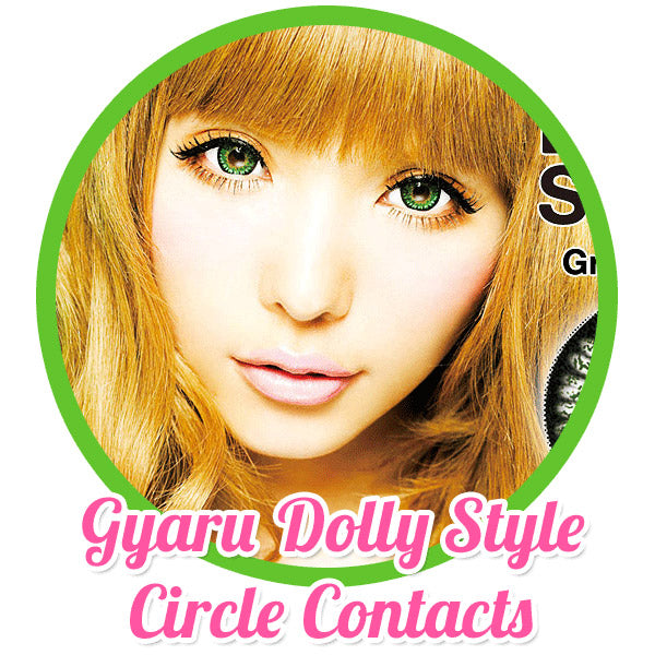 Doll Eye Contact Lenses: Completing the Gyaru Look