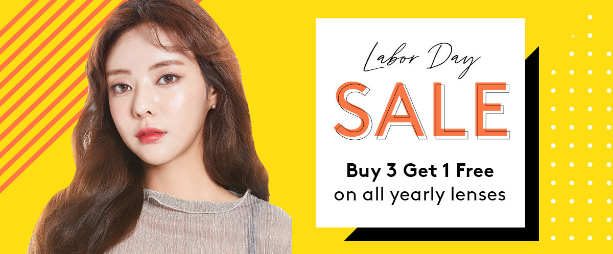 Labor Day Blowout: Buy 3 Get 1 on ALL Yearly Lenses. Until Sept 2 2019 only