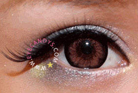 EyeCandy's Spring Blossoms Eye Makeup with Girly Chip Pink Circle Lens
