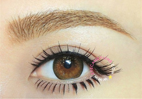 GEO Mari Gold Brown colored contacts