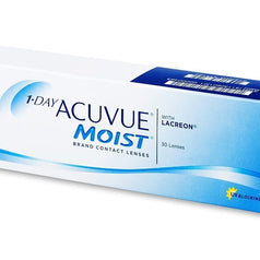 Acuvue 1-Day Moist Contact Lenses (30 Pcs) colored contacts circle lenses - EyeCandy's