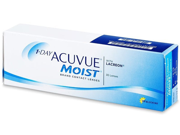 Acuvue Moist Daily Contact Lenses (30 Pcs) 30 lenses/box - EyeCandy's