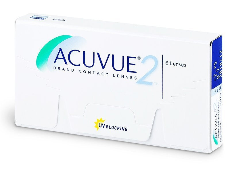 Acuvue 2 Contact Lenses (6pk) colored contact lenses - EyeCandys