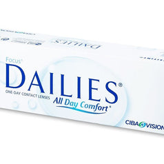 CIBA Vision Focus Dailies Contact Lenses (30 Pcs) 30 lenses/box - EyeCandy's