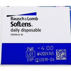 Bausch & Lomb Soflens Dailies Contact Lenses (30 Pcs) 30 lenses/box - EyeCandy's