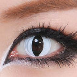 GEO Animation White Cat Eye colored contacts circle lenses - EyeCandy's