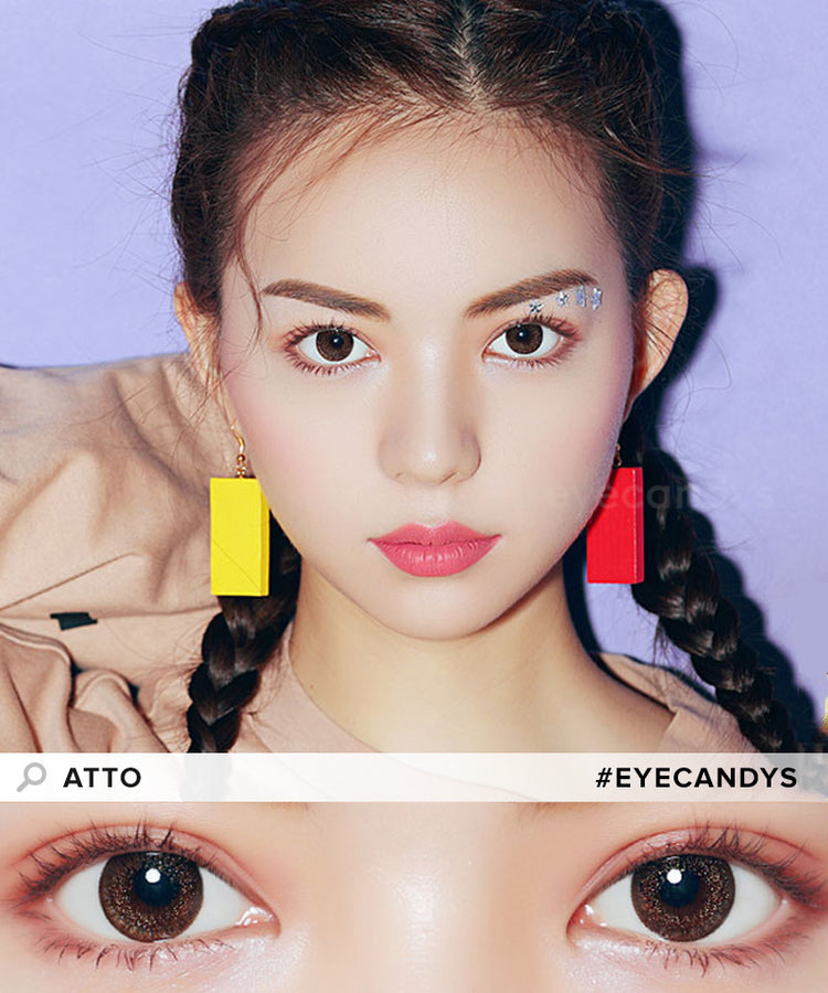 Buy EyeCandys Atto Choco Colour Contact Lenses | EyeCandys