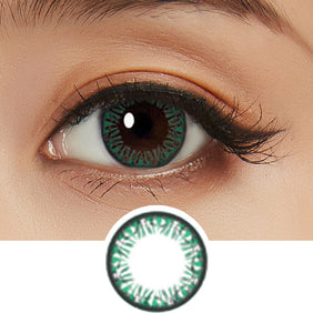 Bausch & Lomb Lacelle Diamond Blue Glacier (30 Pcs) colored contacts circle lenses - EyeCandy's