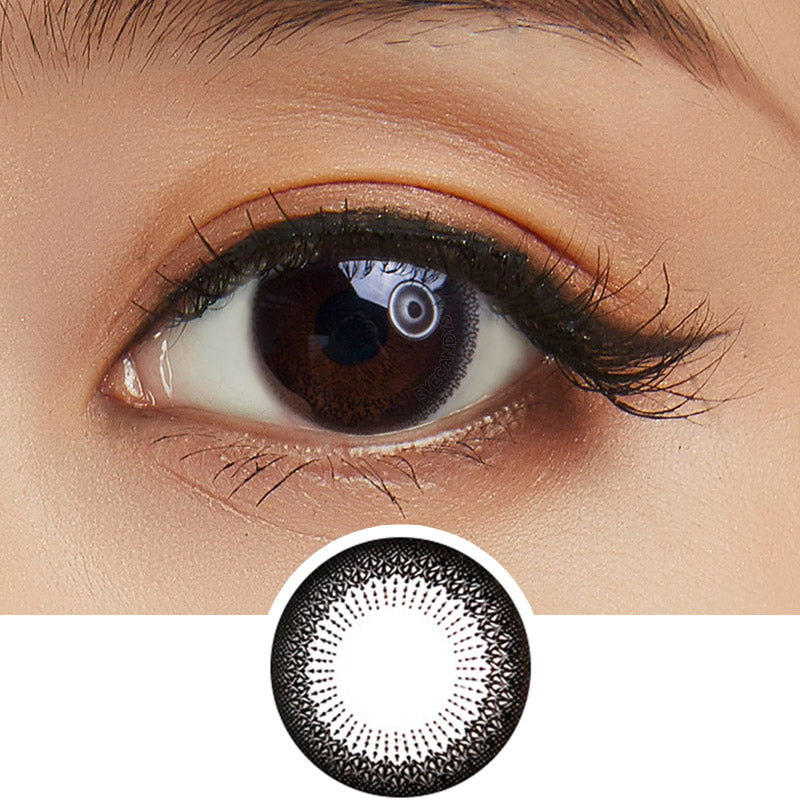 Bausch & Lomb Lacelle Modest Black (30 Pcs) colored contact lenses - EyeCandys
