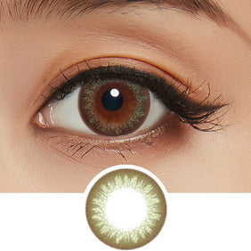 Bausch & Lomb Starry Earth Green colored contacts circle lenses - EyeCandy's