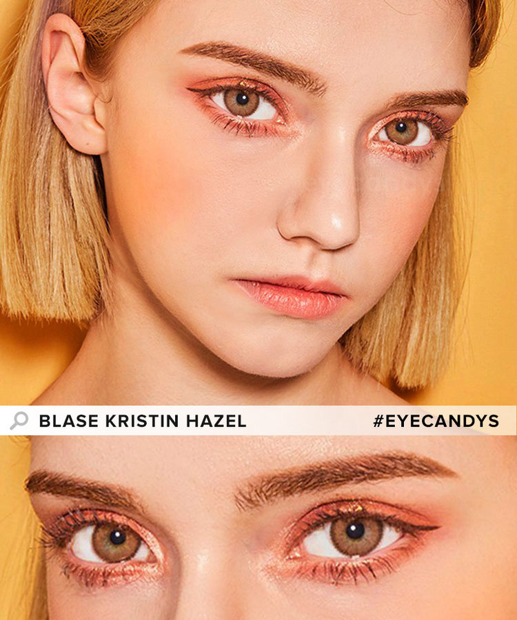 Buy Hapa Kristin Blase Kristin Hazel Coloured Contact Lens | EyeCandys