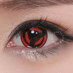 GEO Animation CP-K4 Red colored contacts circle lenses - EyeCandy's