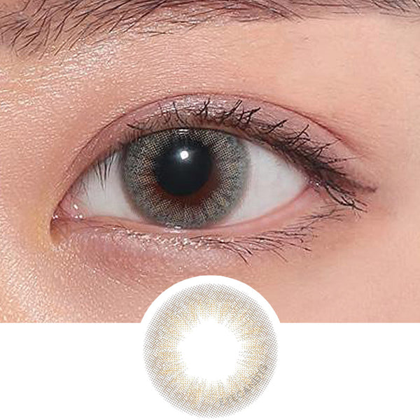 Hapa Kristin Cheerful Kristin Blue colored contacts circle lenses - EyeCandy's