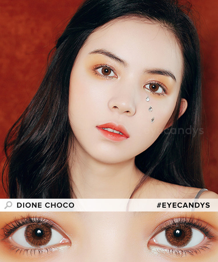 Buy Eyecandys Dione Choco Color Contacts | EyeCandys