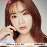 Load image into Gallery viewer, Dueba Eyescream Shake Grey colored contacts circle lenses - EyeCandy's