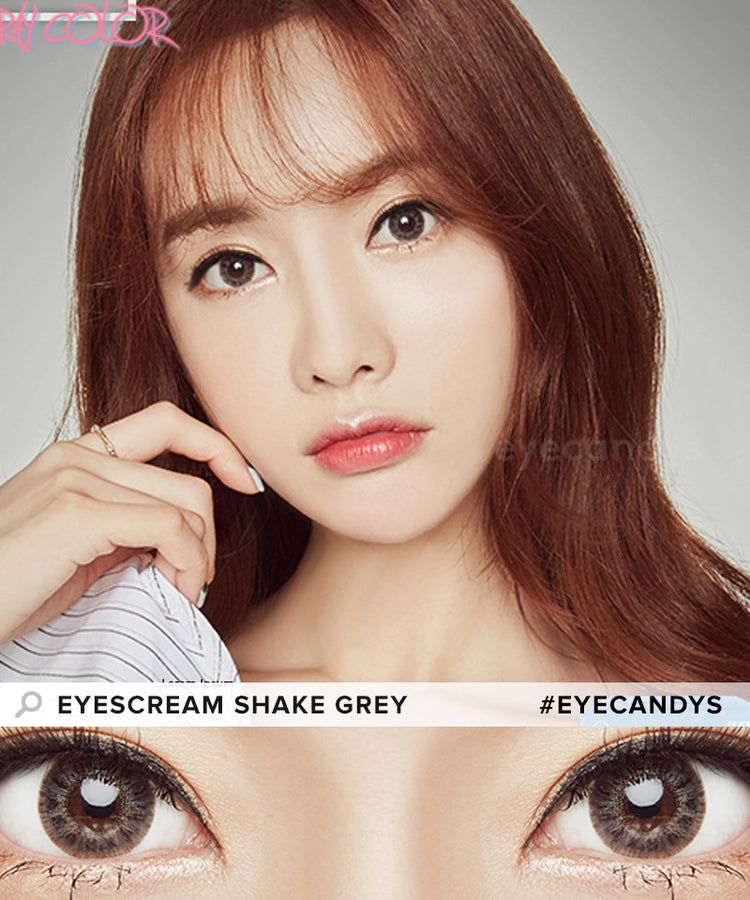 Buy Dueba Eyescream Shake Grey Colored Contacts | EyeCandys