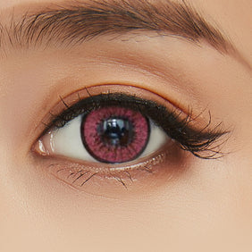 EOS Blytheye Red colored contacts circle lenses - EyeCandy's