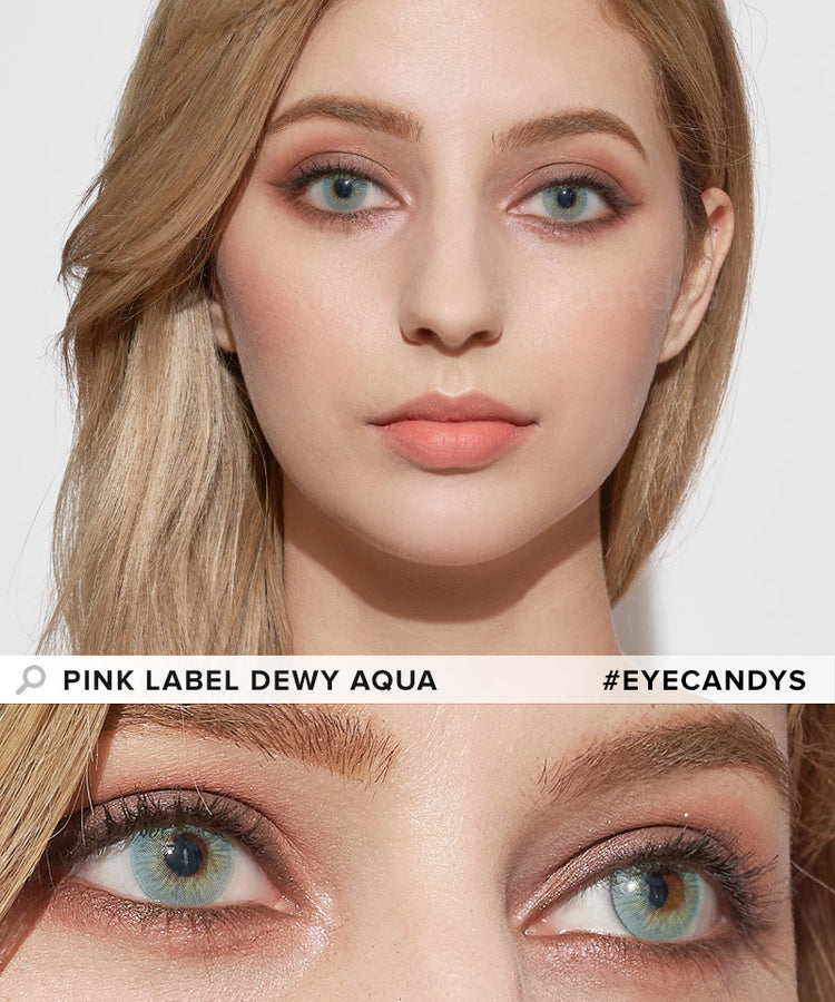 Buy EyeCandys Dewy Aqua Color Contacts | EyeCandys