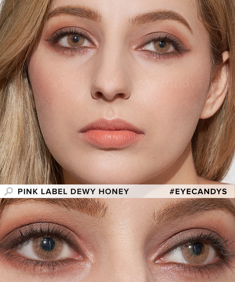 Buy EyeCandys Dewy Honey Color Contacts | EyeCandys