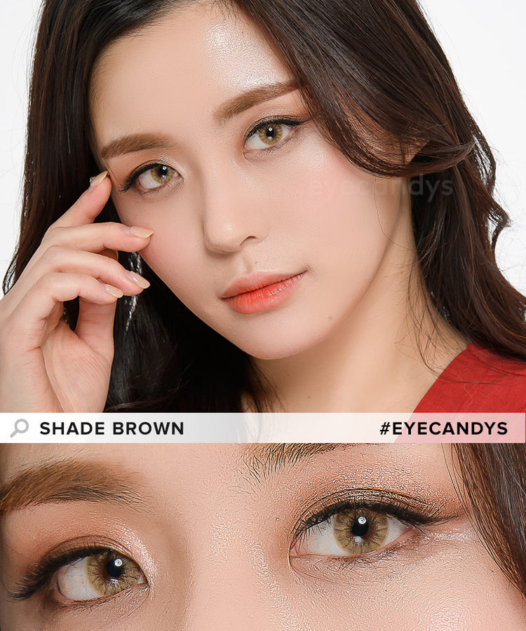 Buy EyeCandys Pink Label Shade Brown Color Contacts | EyeCandys