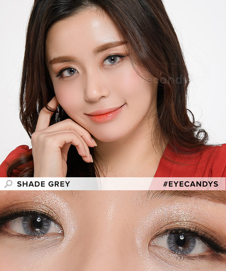 Buy EyeCandys Pink Label Shade Grey Color Contacts | EyeCandys