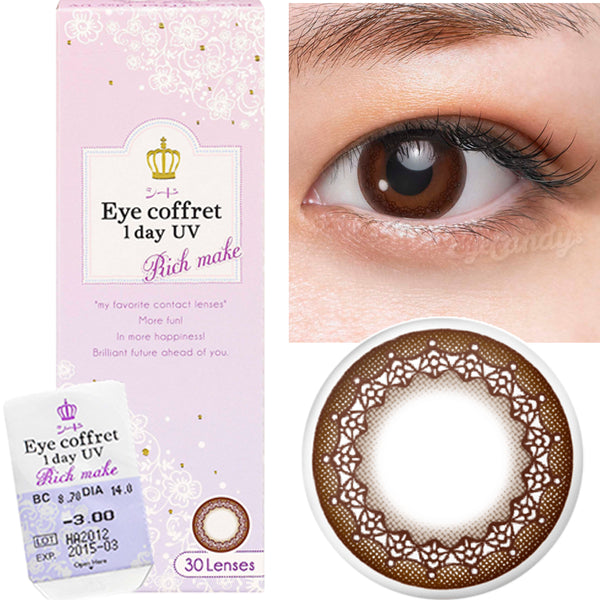 Seed Coffret Rich Make Choco (10 Pcs) 10 lenses/box - EyeCandy's
