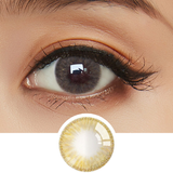 EyeCandys Whimsy Brown colored contacts circle lenses - EyeCandy's