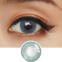 EyeCandys Whimsy Blue colored contacts circle lenses - EyeCandy's