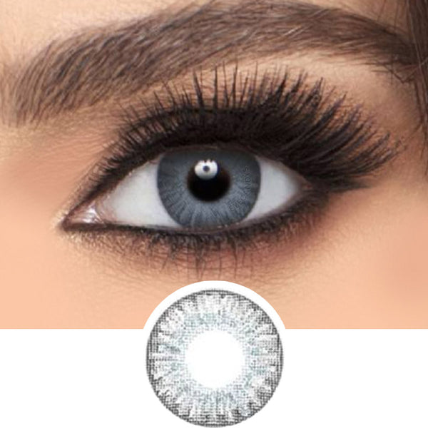 Freshlook Colorblends Sterling Grey colored contacts circle lenses - EyeCandy's