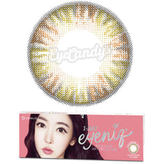 GEO Eyeniq 1-Day Brown colored contacts circle lenses - EyeCandy's