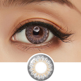 GEO Eyescream Rayray Gray colored contact lenses - EyeCandys
