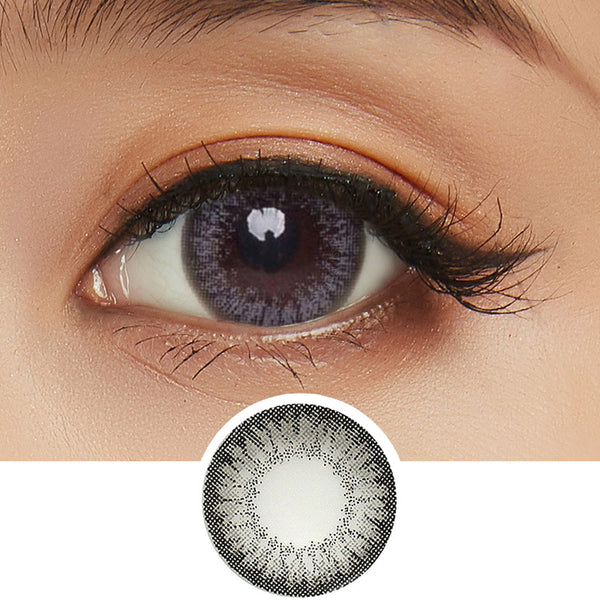 GEO Fresh Grey (Custom Toric) colored contacts circle lenses - EyeCandy's