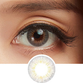 GEO Holicat Funky Grey colored contacts circle lenses - EyeCandy's