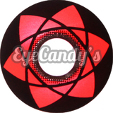 GEO Animation CP-S8 Red colored contacts circle lenses - EyeCandy's