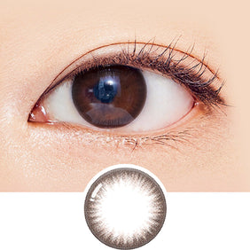 GEOLICA Eyeniq Puscon Mocha Choco colored contacts circle lenses - EyeCandy's