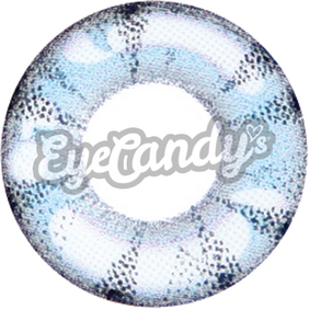 GEO Animation Aqua colored contacts circle lenses - EyeCandy's