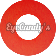 GEO Animation Blood Red colored contacts circle lenses - EyeCandy's