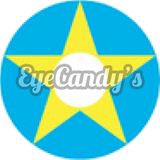 Load image into Gallery viewer, GEO Animation Yellow Blue Star colored contact lenses - EyeCandys