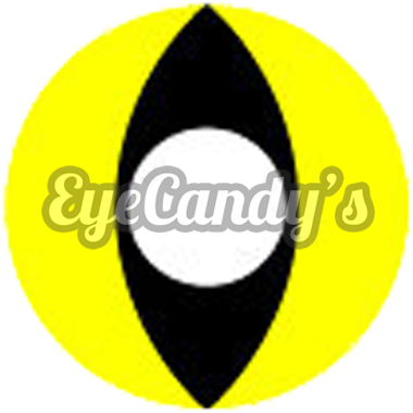 GEO Animation Yellow Cat Eye colored contacts circle lenses - EyeCandy's